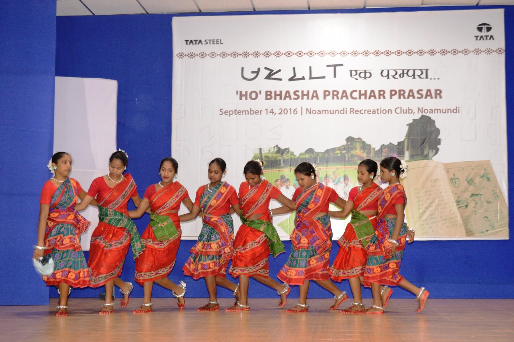 Tata Steel organizes a programme at Noamundi to preserve and