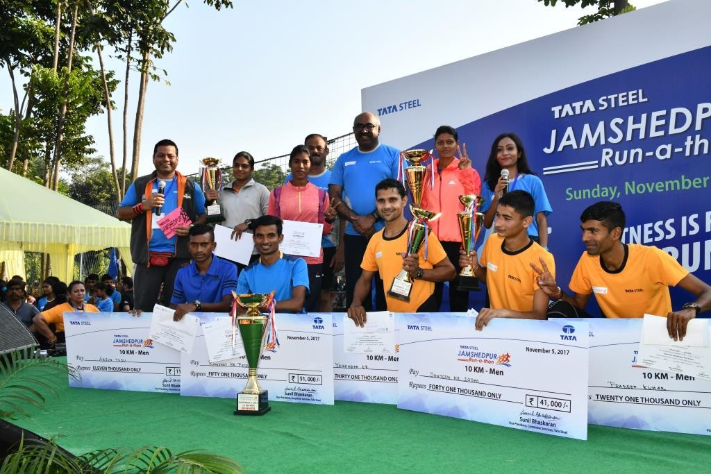 Tata Steel Jamshedpur Run-a-thon 2017 captivates the city