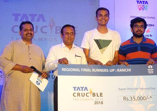 Tata Crucible Quiz for Campus at Ranchi