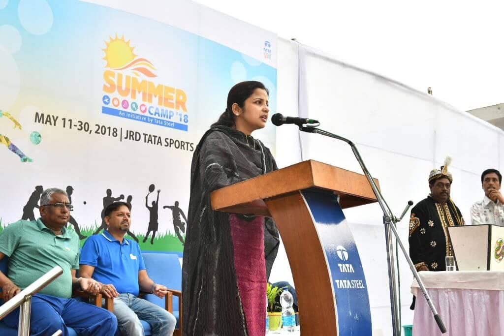 Tata Steel inaugurates Summer Camp at the JRD Tata Sports