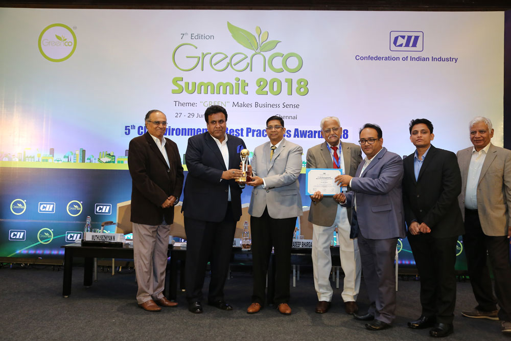Tata Steel awarded the CII Environmental Best Practices