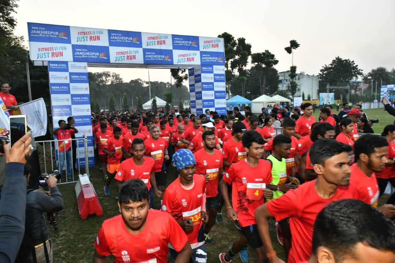 Tata Steel Jamshedpur Run-a-thon 2018 captivates the city