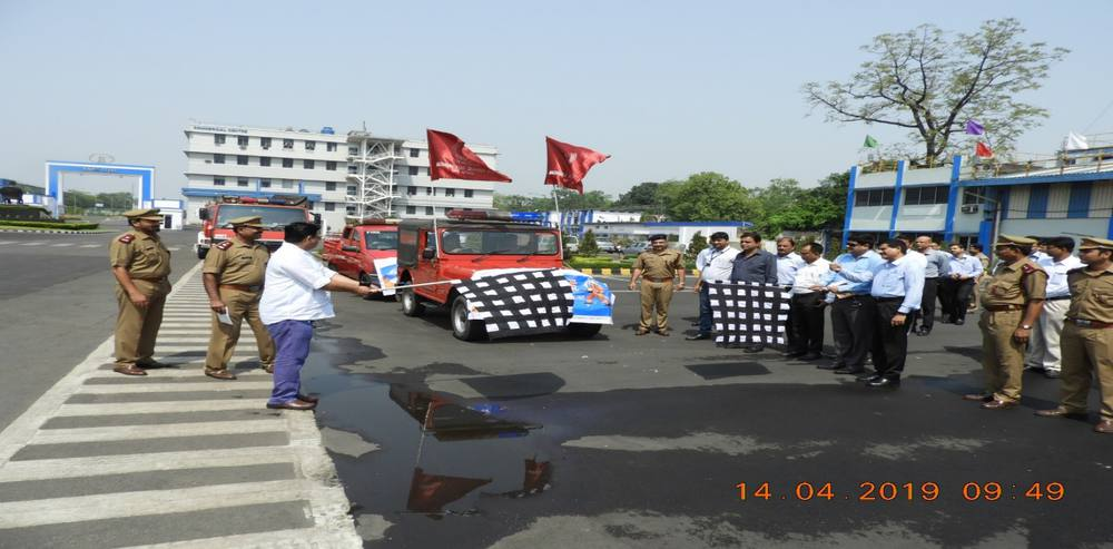 National Fire Service Day Observed at Tata Steel