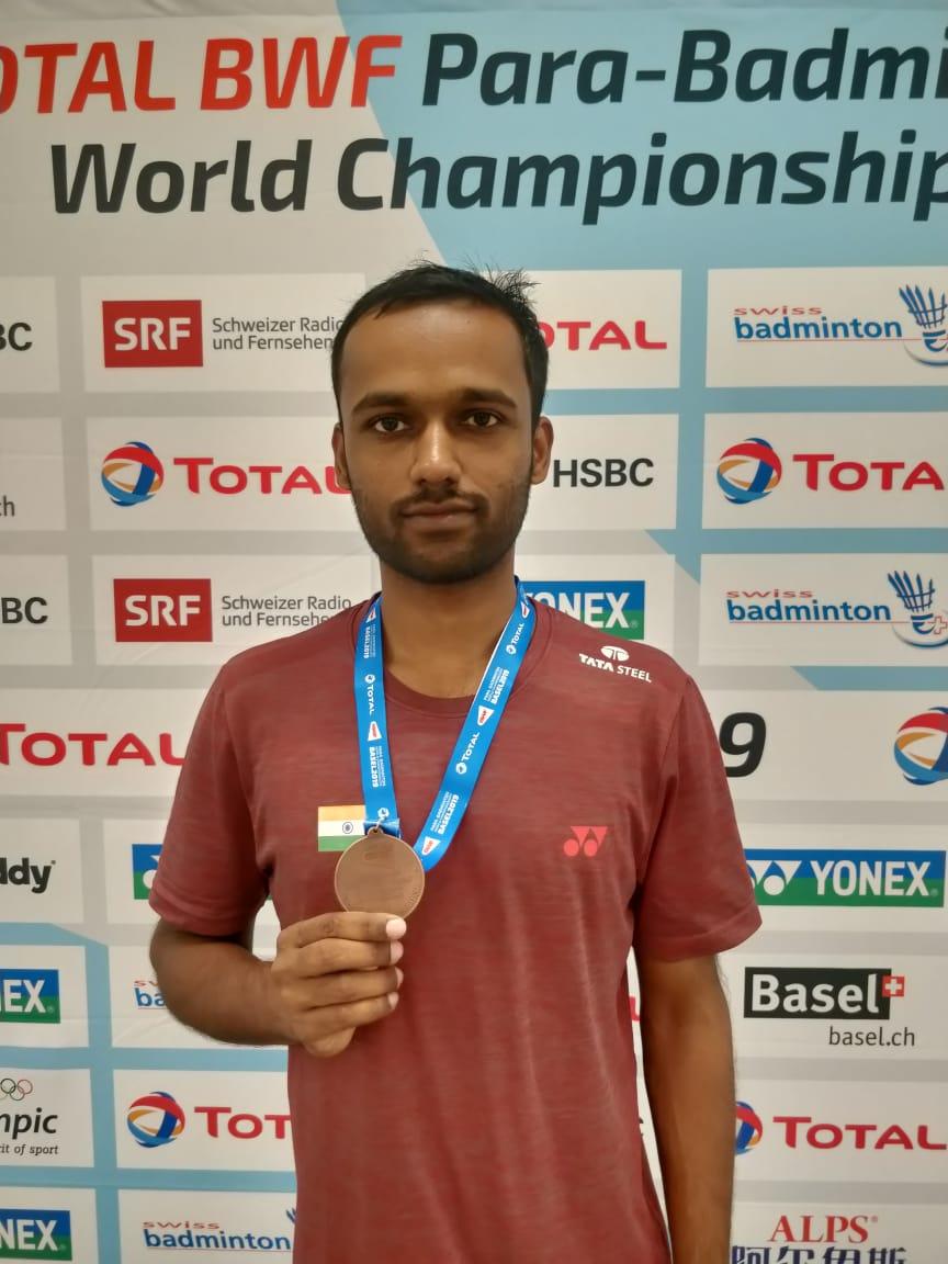 Tata Steel employee wins Bronze at Total BWF Para Badminton